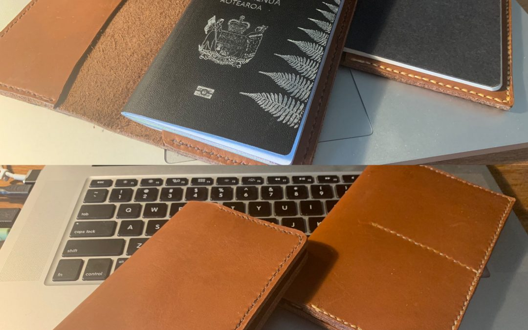 Creating custom passport and notebook covers