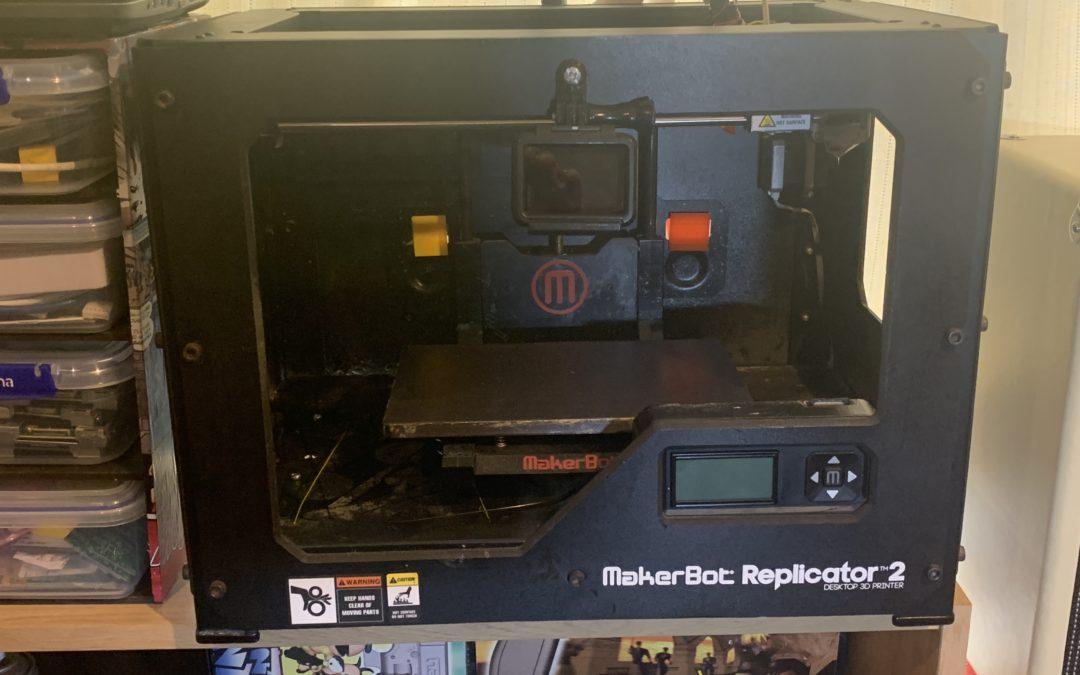 Makerbot Replicator 2 Restoration