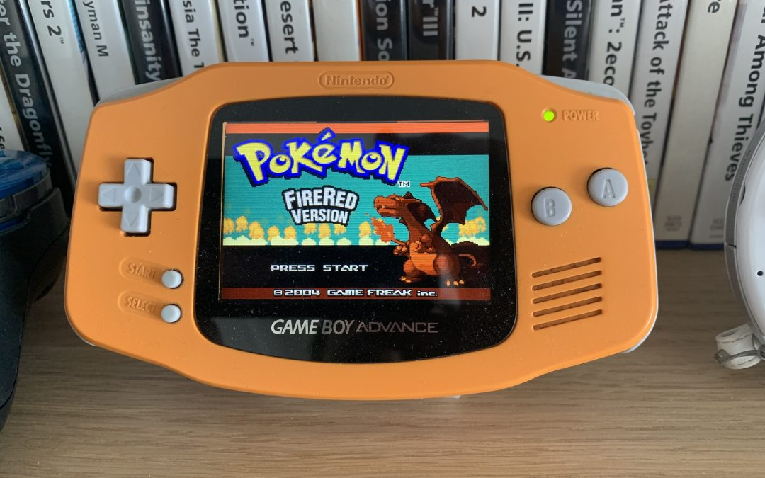 Gameboy Advance screen swap