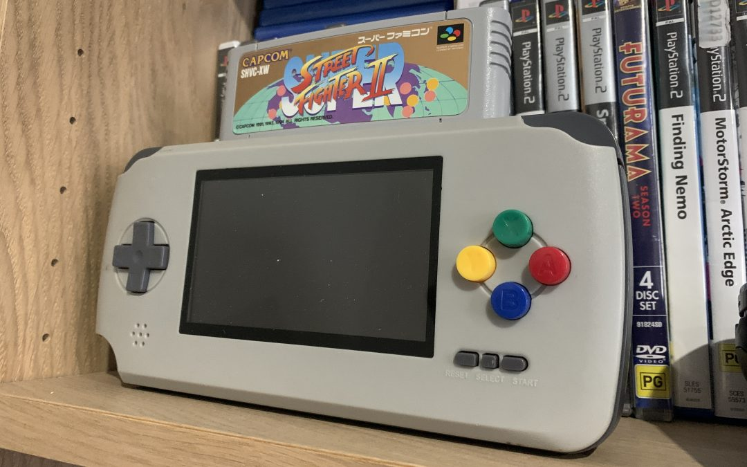 SNES Portable Screen Replacement