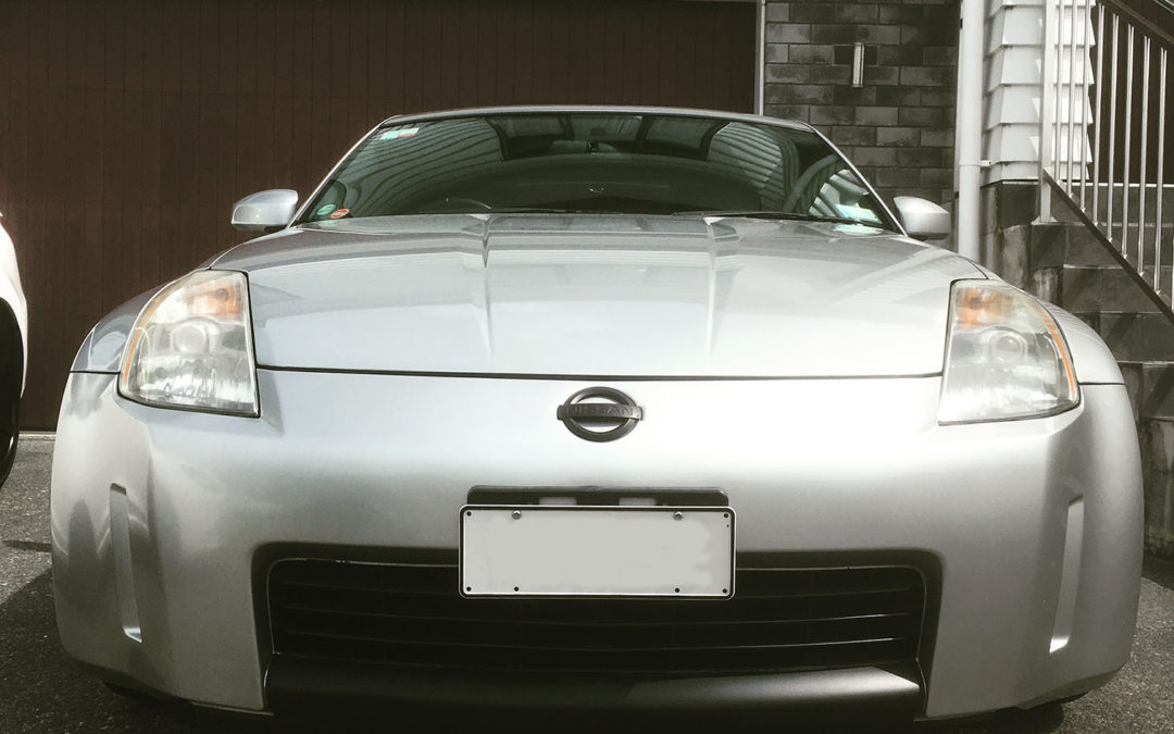 Gradual upgrades to a 350z