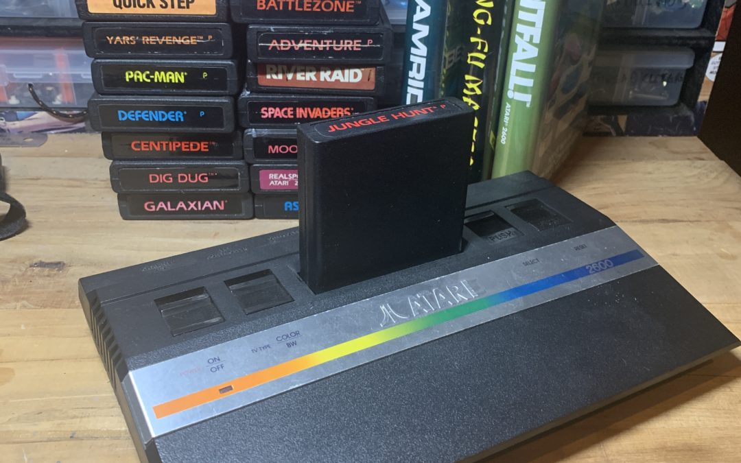 Composite Modding an Atari 2600 Jr