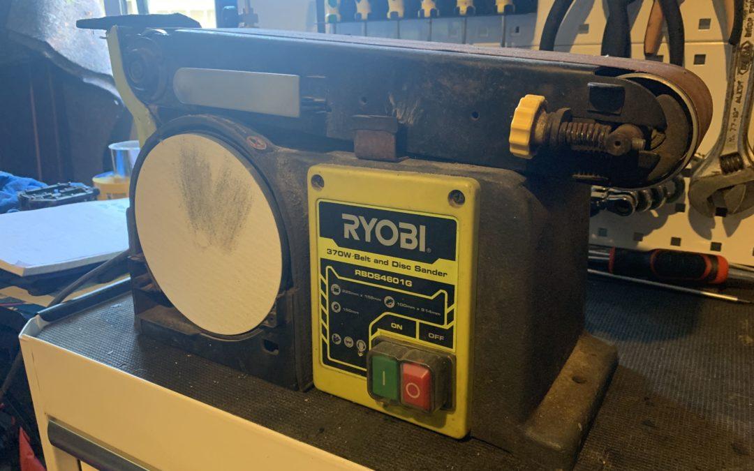 $10 Ryobi belt sander gets new life