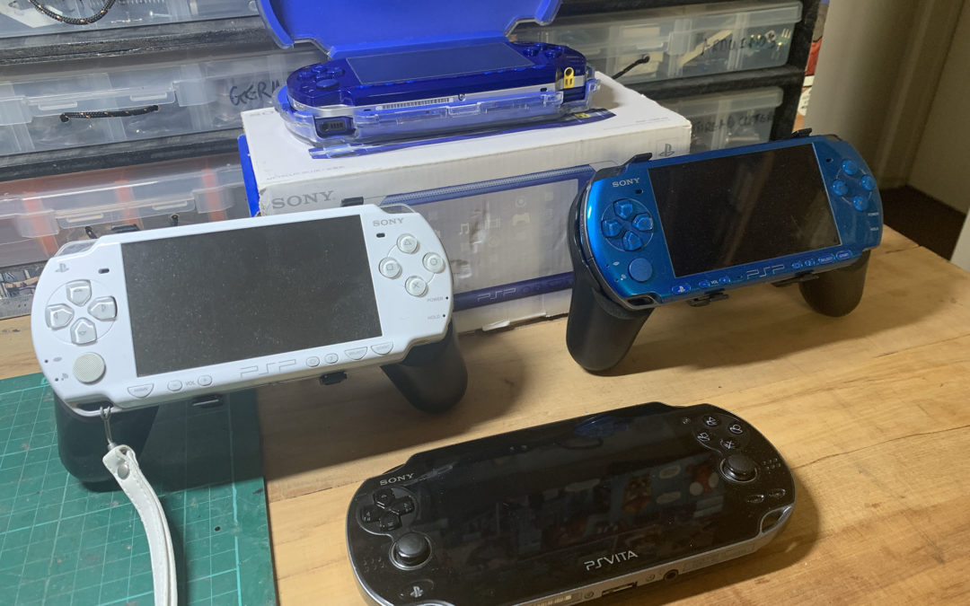 PSP and PS Vita soft modding