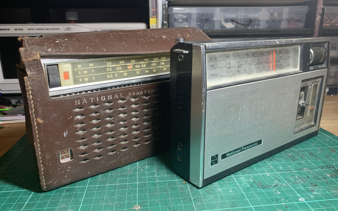 Adding bluetooth to some 1970's National Panasonic radios