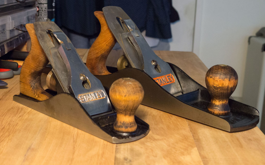 Restoring some old Stanley No.6 and No.4 hand planes