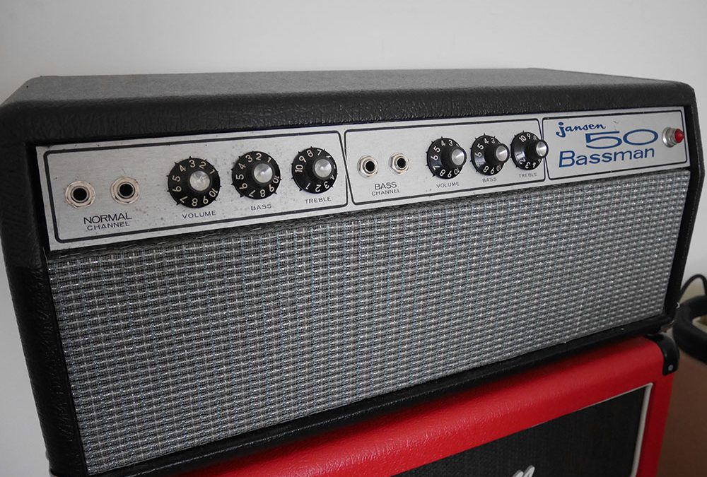 Restoring a Jansen Bassman 50 to its former glory
