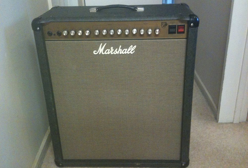 Cleaning up a Marshall JTM60