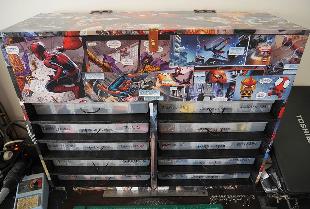How to make a Spiderman Toolbox